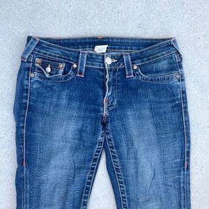 True Religion Jeans - TRUE RELIGION flare LEG denim jeans Joey twist 30